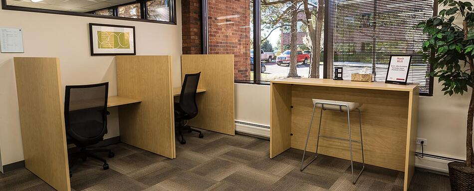 Third interior picture of our Littleton Office Evolution Location