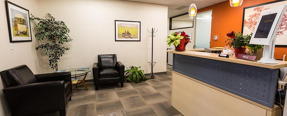 Second interior picture of our Littleton Office Evolution Location