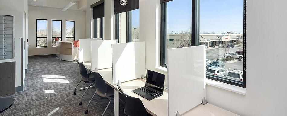 Second interior picture of our South Hover Longmont Office Evolution Location