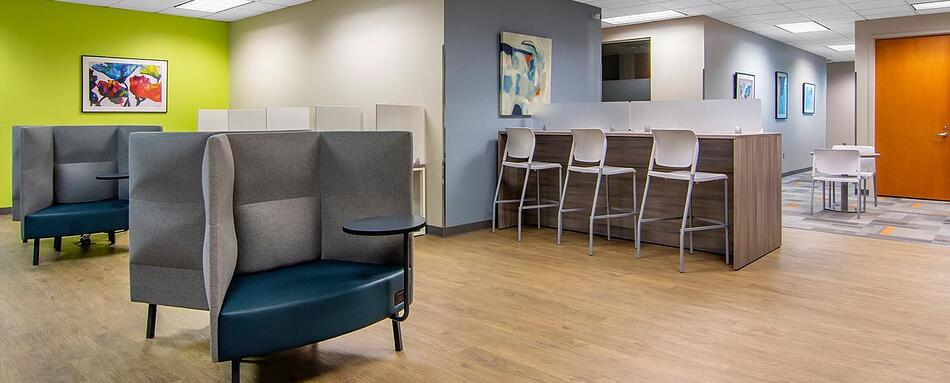 Fifth interior picture of our Avalon Alpharetta Office Evolution Location
