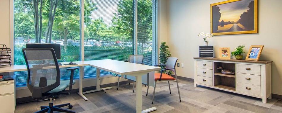 Third interior picture of our Avalon Alpharetta Office Evolution Location