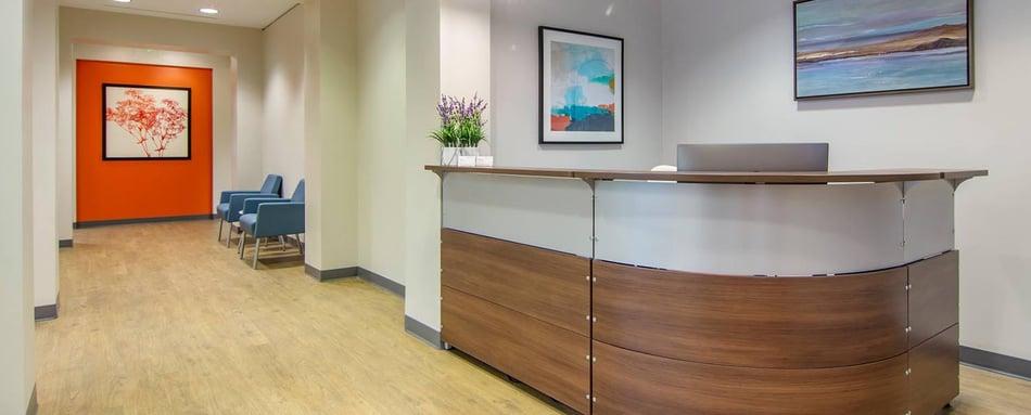 Second interior picture of our Avalon Alpharetta Office Evolution Location