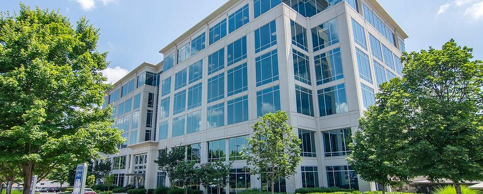 First interior picture of our Avalon Alpharetta Office Evolution Location