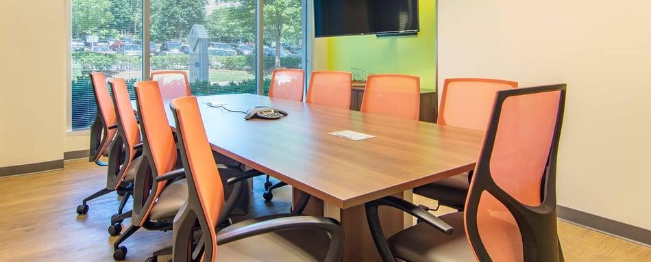 Fourth interior picture of our Avalon Alpharetta Office Evolution Location