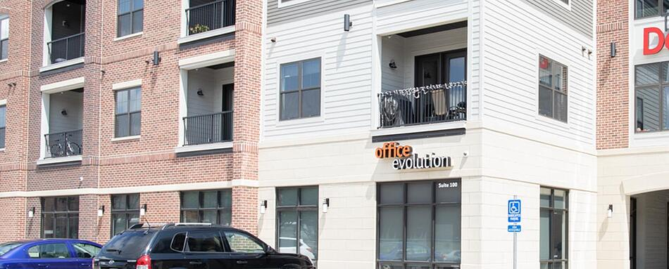 First interior picture of our Cedar Rapids Office Evolution Location