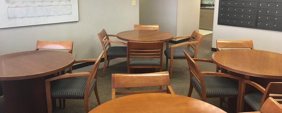 Third interior picture of our Northwest of Chicago Hoffman Estates Office Evolution Location