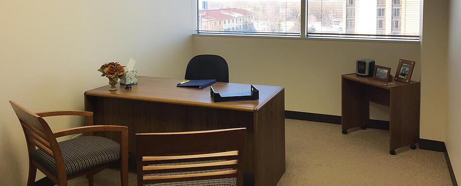 Fourth interior picture of our Northwest of Chicago Hoffman Estates Office Evolution Location