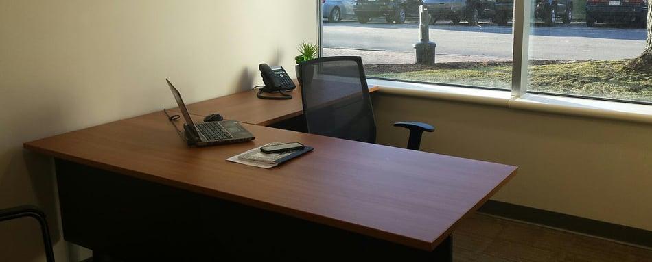 Second interior picture of our Burlington Office Evolution Location