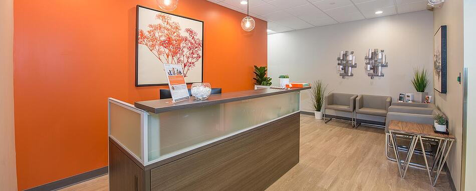 First interior picture of our Pearl River Office Evolution Location