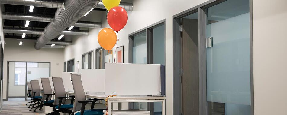 Second interior picture of our Downtown Charleston Office Evolution Location