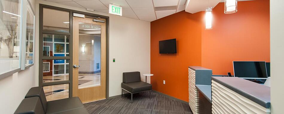 Second interior picture of our Orem Office Evolution Location