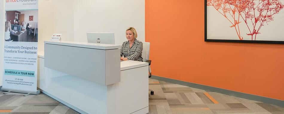 Second interior picture of our Tysons Corner Office Evolution Location