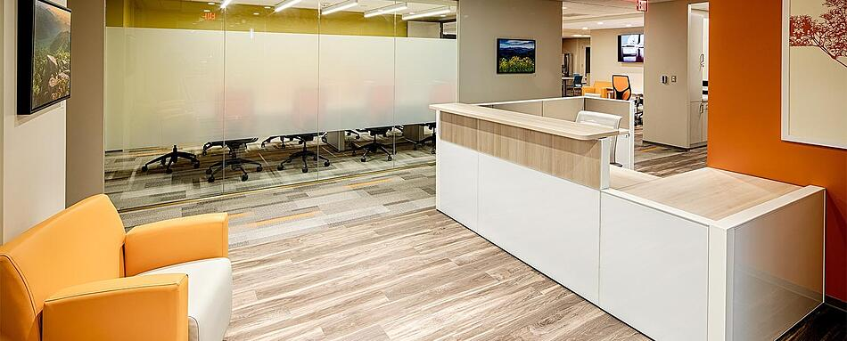 Third interior picture of our Herndon Office Evolution Location