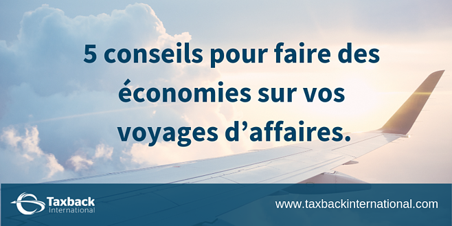 5 Tips to Save Money on Business Travel - French-1