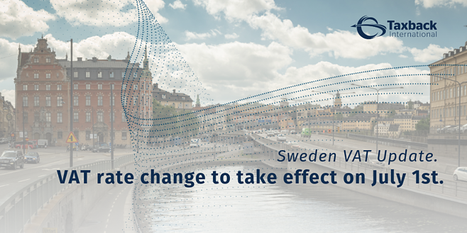 Swedish VAT Changes