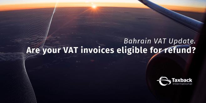 Bahrain VAT invoice guidance