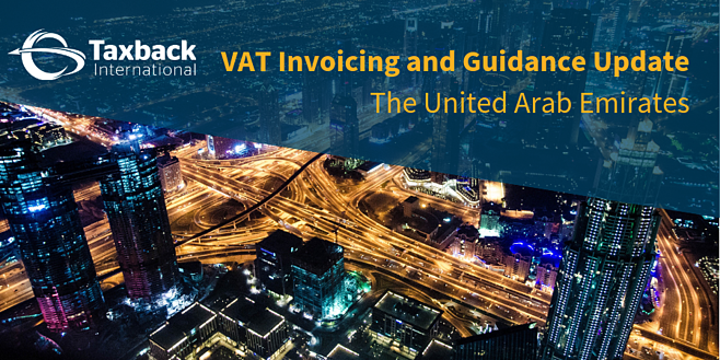 UAE VAT Update