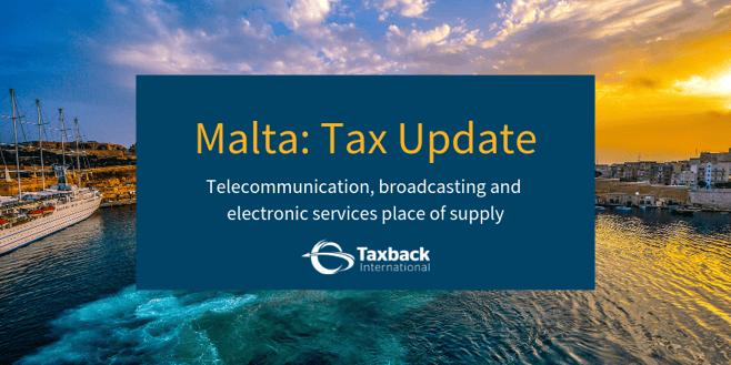Malta Tax Update