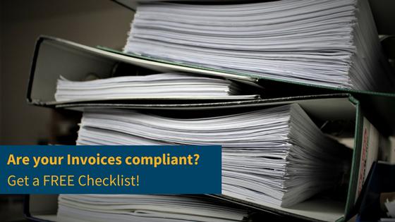 Free Invoice Compliant Checklist
