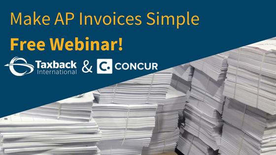 Concur Invoice Free Webinar