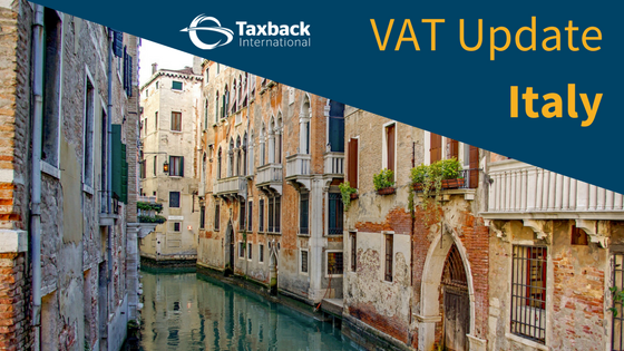 Italy VAT update for 2018