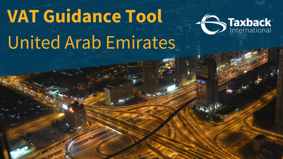 UAE VAT Guidance tool