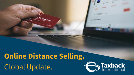 Online Distance Selling Global Update