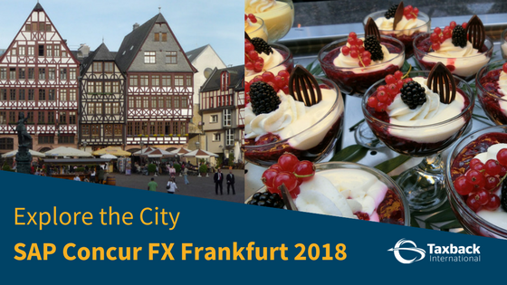SAP Concur Fusion Exchange Frankfurt