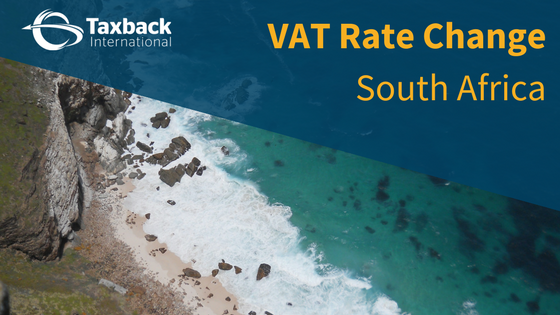 South Africa VAT increase