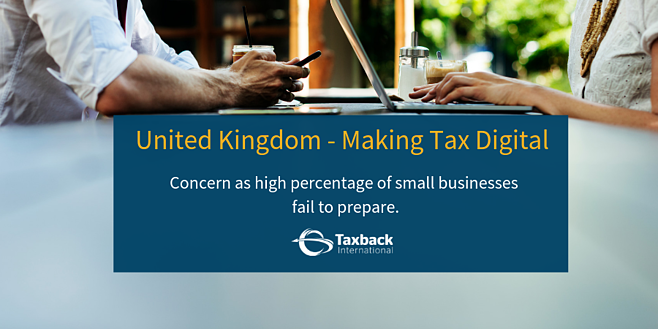 Making Tax Digital - Small Business