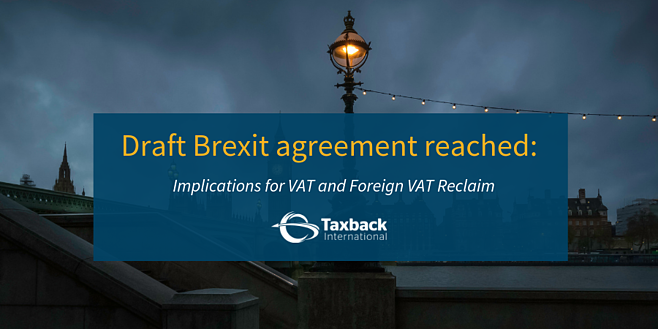 Draft Brexit deal - VAT implications