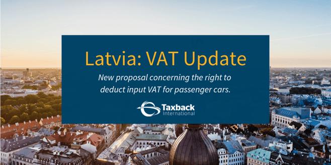 Latvia VAT Update