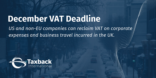 December VAT deadline
