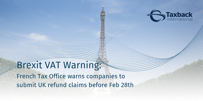 French VAT Warning - Brexit