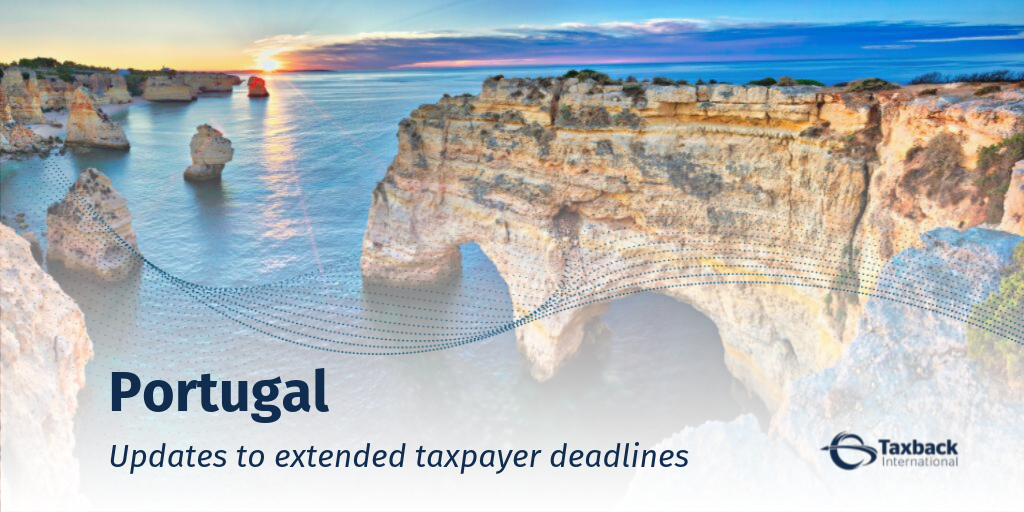 Portugal extended taxpayer deadlines