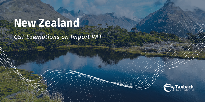 New Zealand GST import vat