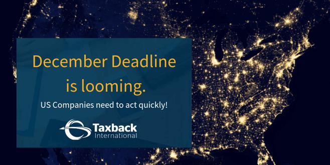 US December VAT Deadline