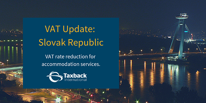 VAT Changes Slovak Republic