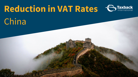 VAT Rates China
