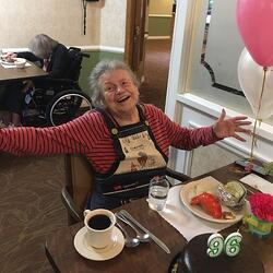 96 year old B-day-1