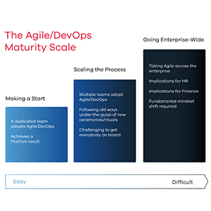 Devops maturity Scale