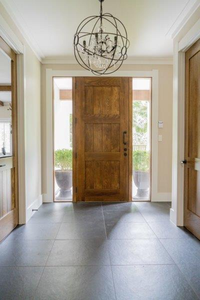 American white ash solid timber front entry door in entranceway (2).jpg