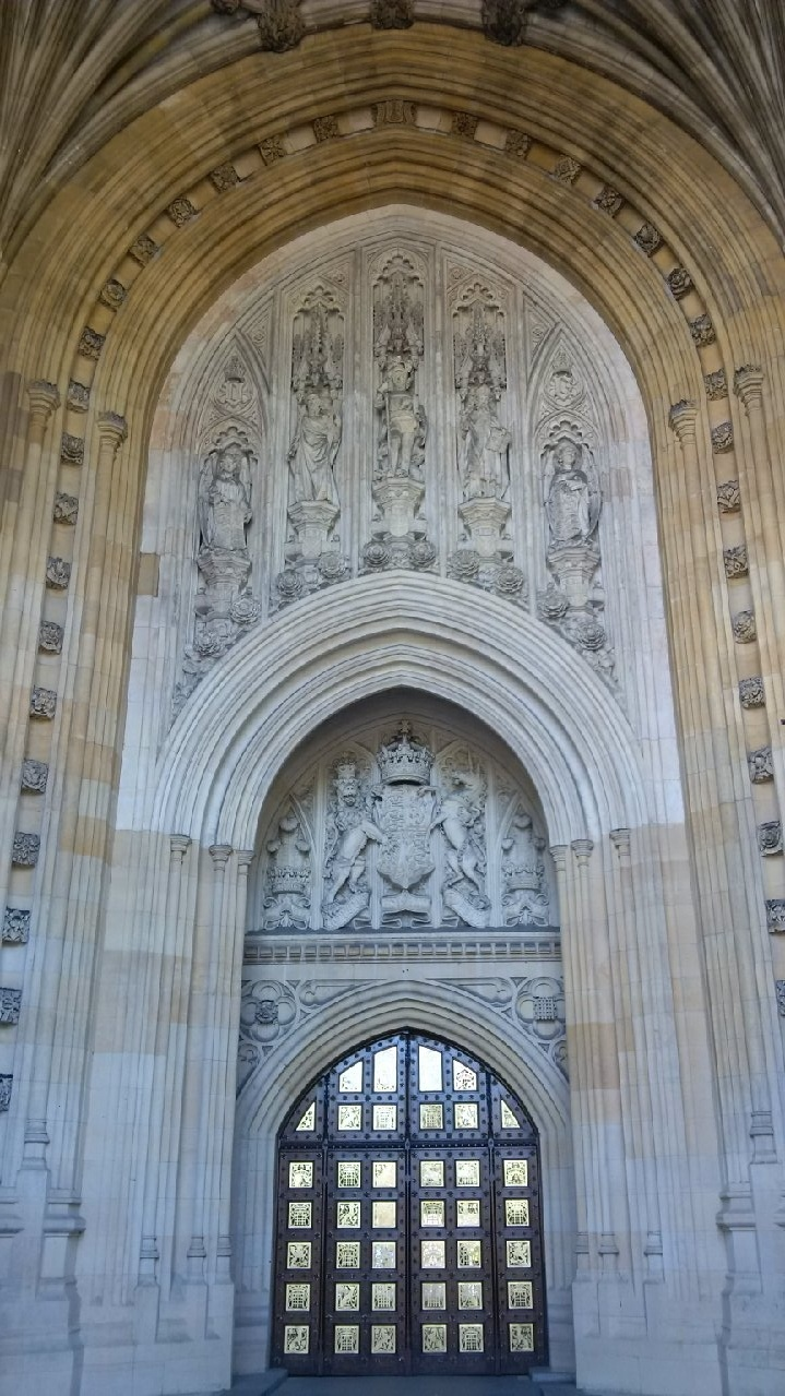 westminster abbey designer front door entranceway