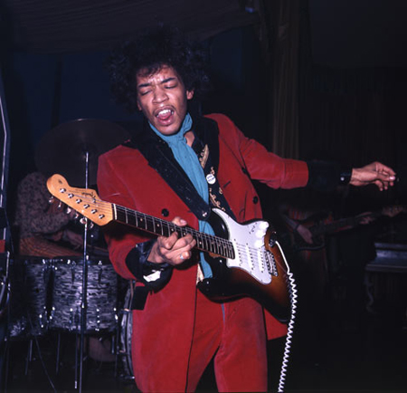 how jimi hendrix revolutionized the way guitar and music in general was played Hendrix played guitar on both tracks, which also included background vocals by lee  when jimi hendrix set his guitar on fire at the 1967 monterey pop festival he created one of rock's most perfect moments standing in the front row of that concert was a 17-year-old boy named ed caraeff  hendrix's music has received a number of hall of.