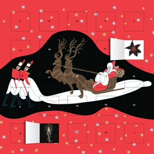 wall calendar, erte advent