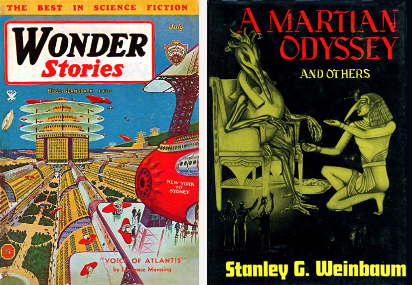 a study of mars and the martian odyssey by weinbaum She studied the famous meteorite from mars – i saw it myself at the national   owing a debt to a martian odyssey (1934) by stanley g weinbaum and the.