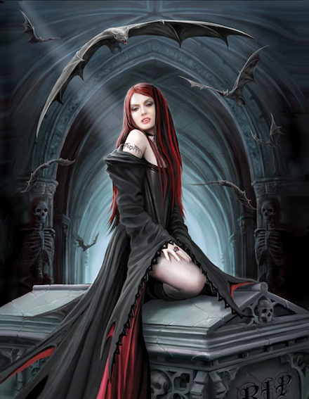 gothic art fantasy artwork - photo #42