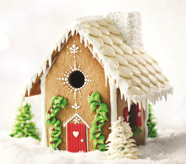 Simple Gingerbread House Recipe
