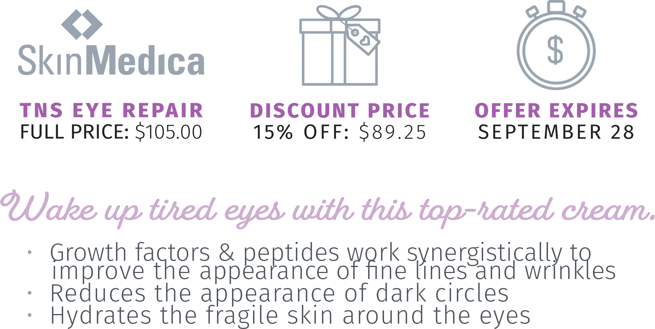 SkinMedica TNS Eye Repair (Overview) 2