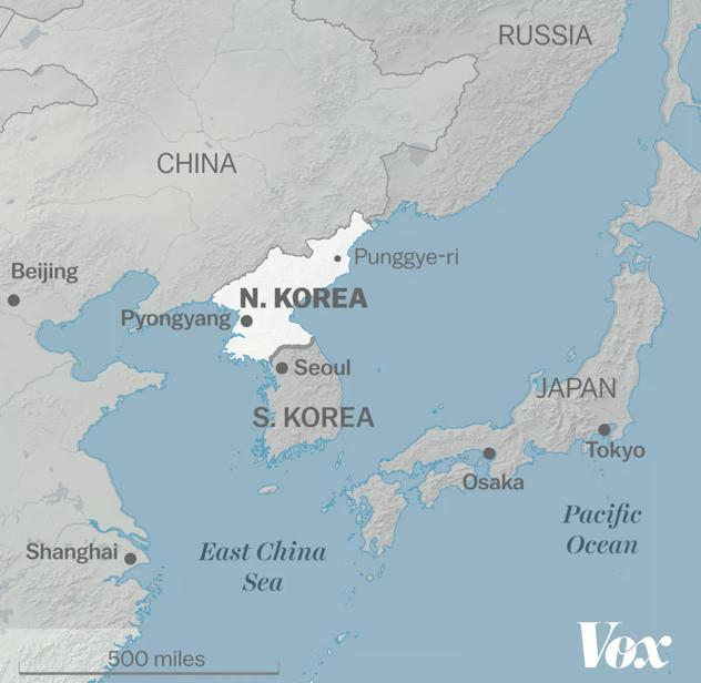 Nuclear North Korea: the full scoop - Zoe Personal Finance Blog - Post World War Two - North Korea - Cold War - Zoe Financial